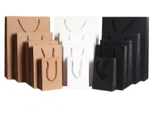 Cheap Flexo Printing 40*30*10cm Retail Paper Shopping Bags for sale
