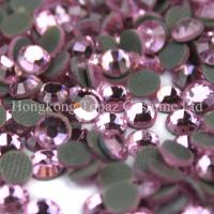 Cheap korean rhinestones good quality korea flat back hotfix stone for sale
