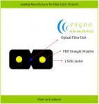 GJXFH/GJXH LSZH jacket drop cable 1/2/4 core single/multi mode FTTH optical fiber cab