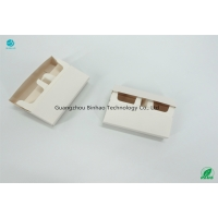 Buy cheap Foldable Cigarette Clamshell Box HNB E-Cigarette Package Materials White from wholesalers