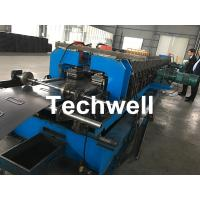 1.5-2.5mm Carbon Steel Cable Tray Roll Forming Machine With 5 Ton Hydraulic Uncoiler Manufactures