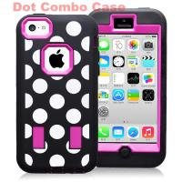 Cheap Robot Hard Plastic & Silicon Case Combo Case For Iphone 5c Hybride Case Cover for sale