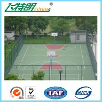 Cheap Athletic Court PU Sports Flooring For Basketball Court / Tennis Court for sale