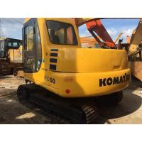 Buy cheap Tonnage 6 ton Japan origin bucket 0.28m3 used Komatsu crawler midi excavator from wholesalers
