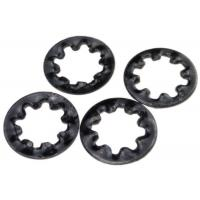 Cheap Hardened Metal Stamping Parts Steel Internal Toothed Lock Washer DIN 6797 Type J for sale