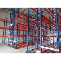 Cheap Frozen Foods Heavy Duty Mobile Storage Racks Customized Height Corrosion Protection for sale