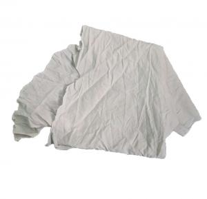 Cheap 50Cm Strong Absorbency 25kg/Bale White Cotton Rags for sale