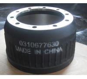 Cheap Cast Iron Auto Wheel Parts Rear Brake Drum AS Brake Asist OEM NO 3604230101 016 435 00A B for sale