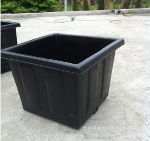 Cheap Rotomoulding flower pot , OEM plastic garden pot for sale