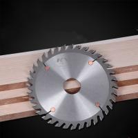 Cheap Durable Sharpen TCT Saw Blade For Wood Grooving Natural Color LR+F Tooth for sale
