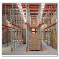 Cheap Warehouse Storage Customized Drive In Racking System Powder Coated Finish for sale