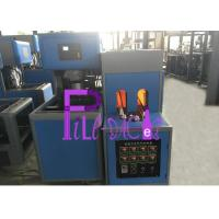 Semi Auto 5 L Bottle Blowing Machine , Single Cavity Pet Blowing Machine For Water Drink Bottle Manufactures