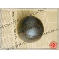 China High Precision Hot Rolling Steel Balls B2 Material Excellent Impact Resistance on sale