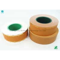 Cheap Cork Tipping Paper Brightness >78 Rolling Filter Customized Printing for sale