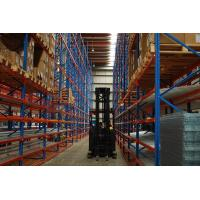 Cheap Mobile Carton Flow Racking Systems Steel Material Custom Size For Supermarket for sale