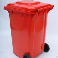 Cheap Outdoor 240L Dust bin Garbage Bin Mobile garbage bin Two Wheels Maxi Bin for sale