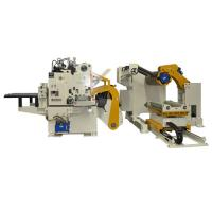 Cheap Auto Body Die Stamping Feeding Equipment / H Beam Flange Coil Feeder Machine for sale