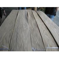 China Sliced Natural Chinese Oak Wood Veneer Sheet on sale