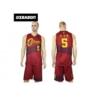 Cheap Hotsale Sublimated Custom Quick Dry Basketball Jersey Wear For Sale for sale