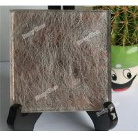 Cheap Laminated Glass with Fabric Interlayer for sale