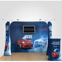 Cheap 8Ft 10Ft 15Ft Tension Fabric Displays Trade Show Booth Displays Waterproof for sale