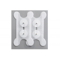 Cheap Non-woven fabric material snap button electrode for swallowing treatment instrument for sale