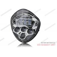 Cheap 40W - 60W LED High Low Beam Headlights 12V DC 6500K For Victory Motocycle for sale