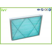 Cheap G3 Fiberglass Spray Booth Air Filters , Air Purifier Filters Large Ventilation Quantity for sale