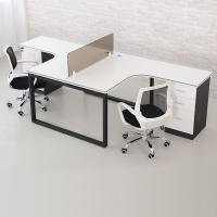 Buy cheap Small White Wood Computer Workstation , Neat Home Office Desk Furniture Wood from wholesalers