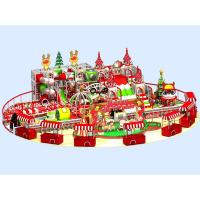 Cheap Merry Christmas Theme Children Indoor Playground Equipment Colorful Fun Play Set for sale