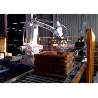 Cheap High Strength Automatic Stacking Machine , Fast Packing Robotic Bag Palletizer for sale