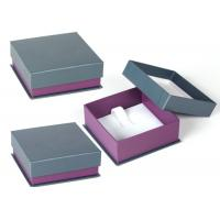 Cheap Women Jewellery Presentation Boxes , High End Custom Jewelry Gift Boxes for sale