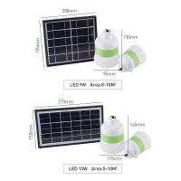 Cheap 700lm Solar Powered LED Outdoor Lights With Touched Switch Control for sale