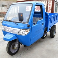 Cheap Construction Tricycle 25HP 3 Tires 5T Farm Dump Truck for sale