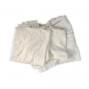 Cheap Soft 95% Cotton 20kg/Bale White Cotton Rags for sale