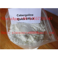 Cheap High Purity White Anti Estrogen Steroids Powder Cabergoline for Muscle Gaining CAS 81409-90-7 for sale