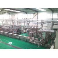 Quality Raw Fresh Milk Processing Machine Turn Key Pasteurized With Plastic Bag wholesale