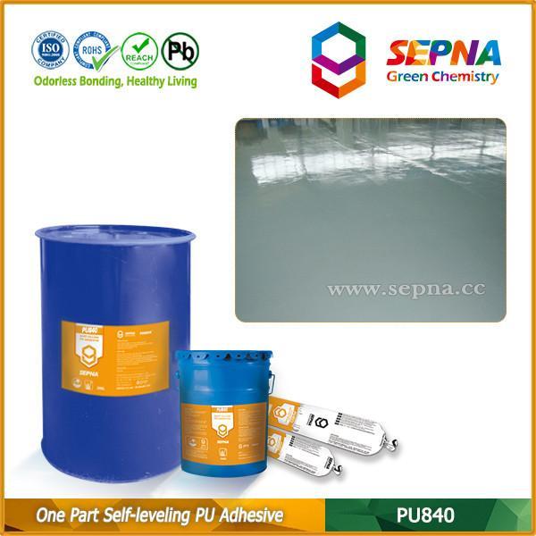 Quality Single Component Polyurethane Self-leveling Adhesive for Highway Slot Gap Filling PU840 wholesale