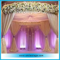 Cheap Durable backdrop support pipe and drape exhibition design pipe and drape for sale