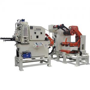 Cheap CE Metal Sheet Straightening Machine / Thin Roll Stamping Die Disc Horizontal Feeder Machine for sale