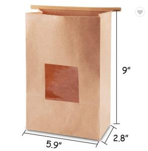 """Cheap Gravure Printing 5.9""""X2.8""""X9"""" Donut Paper Bags for sale"""