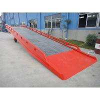Cheap Hydraulic Mobile Yard Ramp for loading goods ,galvanized,mobile loading equipment for sale