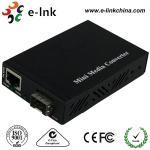 Cheap Mini SFP / LC Fiber Ethernet Media Converter With SFP Port , Fiber To Gigabit Ethernet Converter for sale