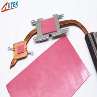 Buy cheap 2W / MK Cooling Thermal Conductive Silicone Adhesive Gap Insulation Pad from wholesalers