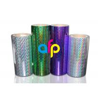 Buy cheap BOPP Laser Holographic Film For Lamination Machine 180mm - 1300mm Width from wholesalers