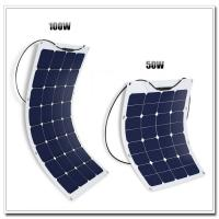 Cheap Yatch / Camping Use 12 Volt RV flexible Solar Panels 32 PCS With Cable MC4 Connector for sale