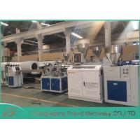 Cheap Professional PVC Sheet Extrusion Line , 80mm Width White PVC Sheet Extruder for sale