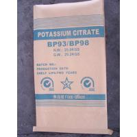 Cheap Food Additives Stabilizers , Potassium Citrate For Tinned Pastry , Dairy Products for sale