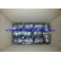 Buy cheap ASME B16.11 SW 45 Degree Elbow Stainelss Steel Pipe Fittings DN6 - DN100 3000LB from wholesalers