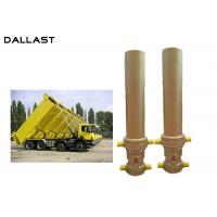 Cheap 3 / 4 Stage Telescopic Dump Truck Lifting Hydraulic Hoist Cylinder for sale